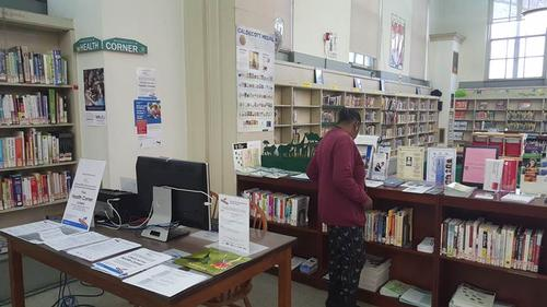 Health Corner at Paschalville Library