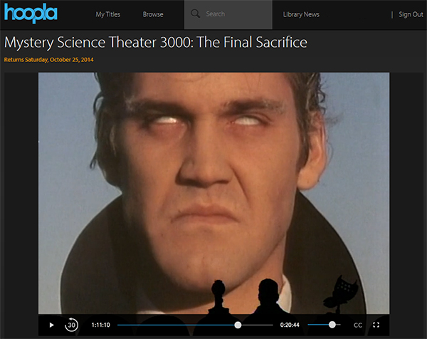 MST3K: The Final Sacrifice