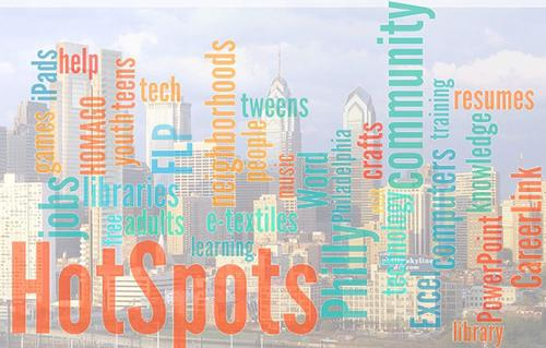 Free Library Hot Spots