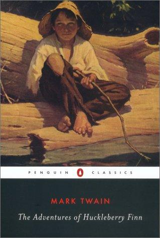 Cover image of <i>The Adventures of Huckleberry Finn</i> <br> Penguin Classics edition