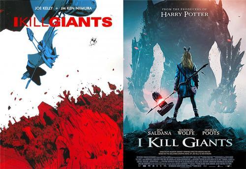 <i>I Kill Giants</i>, the original graphic novel  by Joe Kelly and J. M. Ken Niimura, finally makes its big screen adaptation debut.