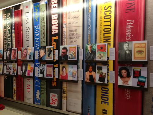 Check out the new exhibition celebrating our city's literary legacy at the Philadelphia International Airport, presented in partnership with the Free Library.