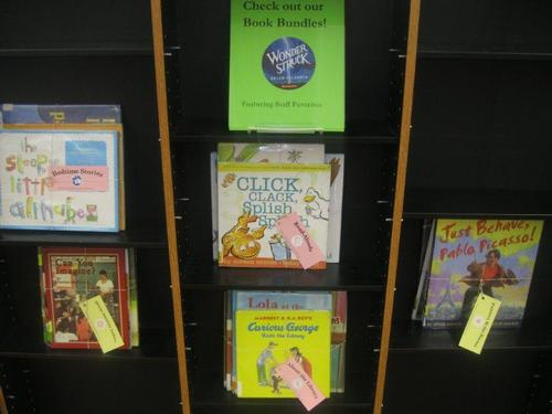 Take home a book bundle on your next visit