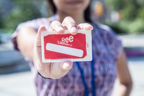 Library Card Sign-Up Month is the perfect time to get your card, or help a friend or family member get theirs!
