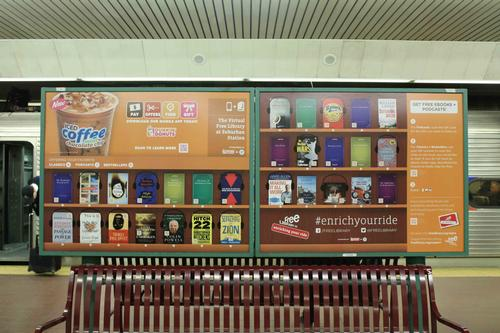 Check out the Virtual Library at Suburban Station!