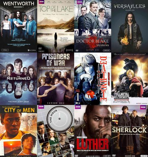 Popular international TV shows available to check out from our catalog