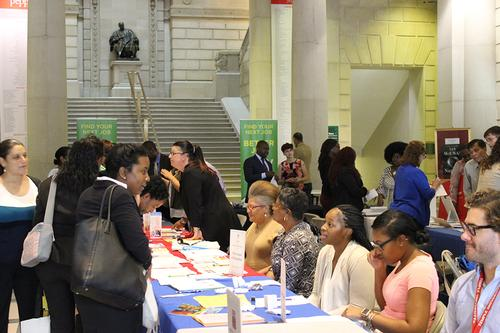 The Free Library of Philadelphia will present a series of Job Fairs this fall.