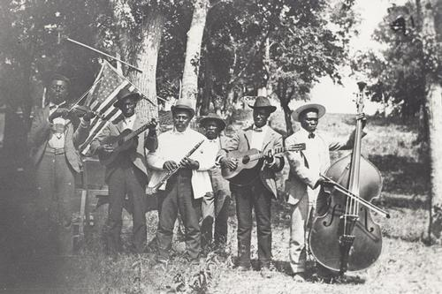 historic photo of band from Juneteenth