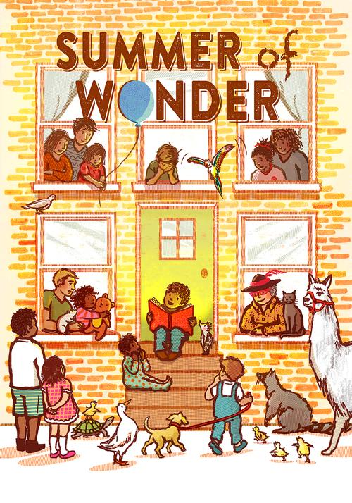 Summer Reading 2016 – The Summer of Wonder! Illustrations by Lauren Castillo