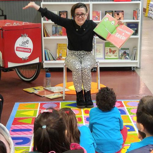 Link Ross - Children's Librarian at South Philadelphia Library