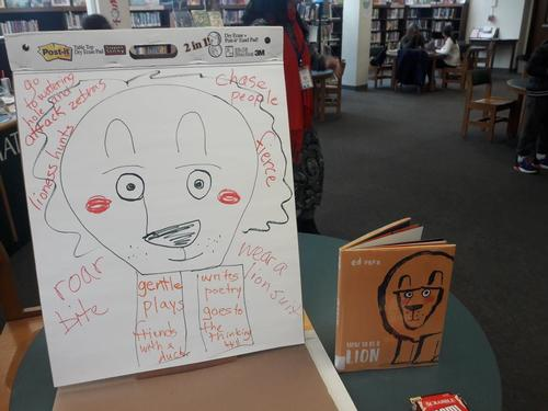 Literacy Lab sessions are inspired by great new books like <i>How To Be a Lion</i> by Ed Vere.