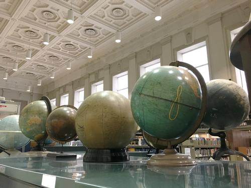 Globes from the Map Collection
