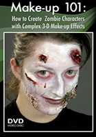 Make-up 101 How to Create Zombie Characters
