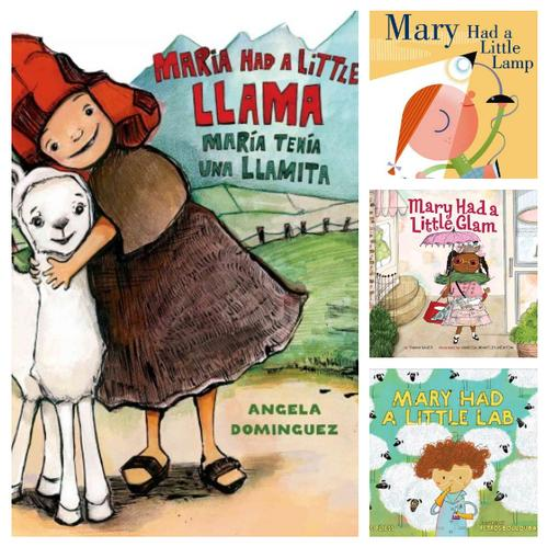 In these Picture Book Highlights, Mary adds a little Glam, Lllama, Lamp, and Lab, to the classic Lamb storyline and rhyme.