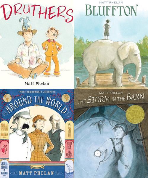 Matt Phelan's award-winning books