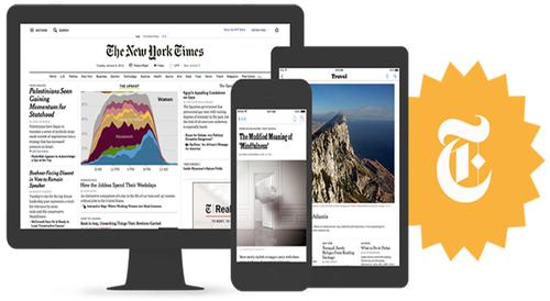 Free access to <i>The New York Times</i> is now available!