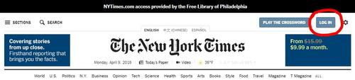 Register at NYTimes.com to get started
