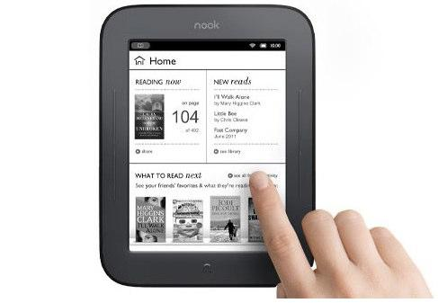 The Nook Simple Touch - it's simple!