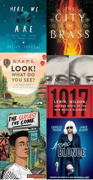 Check out one of these new titles that will appear in neighborhood libraries and our online catalog in November.