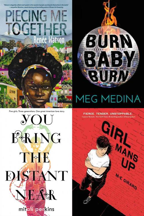 Some of the author's recent favorite Diverse Coming of Age Stories
