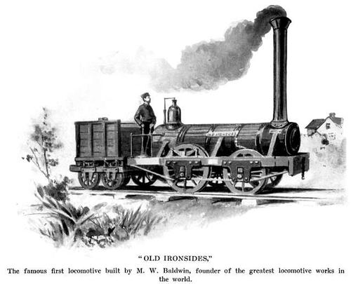 Baldwin's first locomotive,