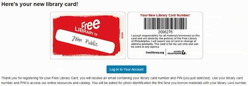 How To Get A Library Card - New Online Registration Feature