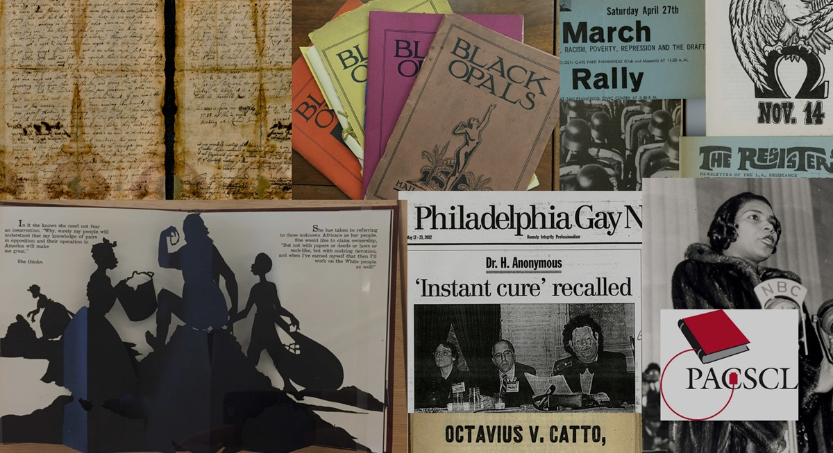 Chronicling Resistance aims to amplify stories of resistance in Philadelphia's historic archival collections and preserve activists' records of their communities' small and large acts of resistance to oppression today.