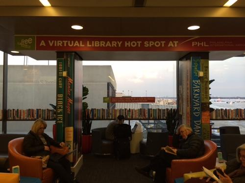 Free Library Airport Lounge