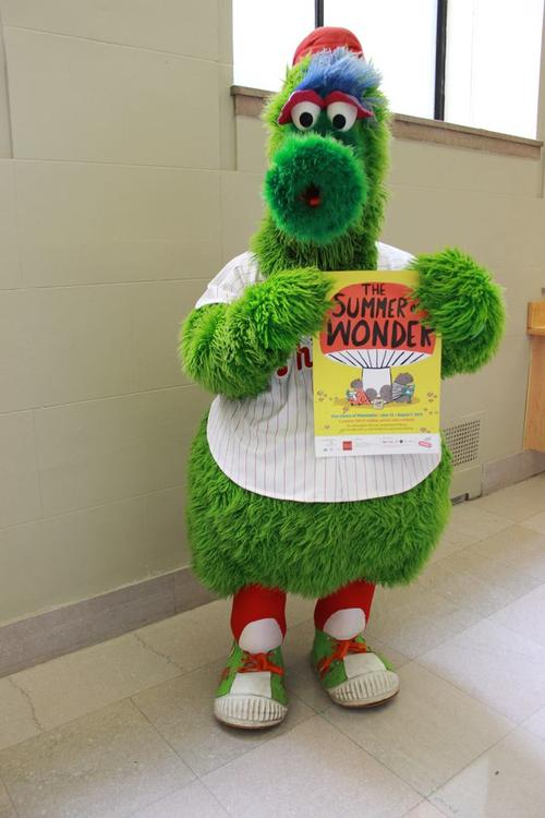The Phanatic is a HUGE fan of Summer Reading!