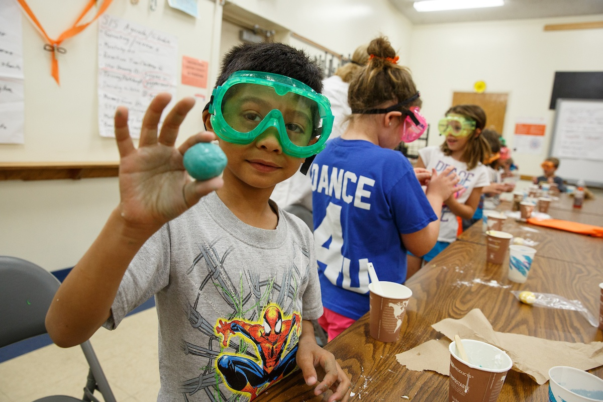 Science in the Summer: Be an Engineer will run from June 14 - August 6.