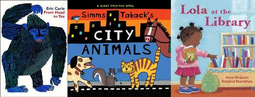November is Picture Book Month and in celebration, we're sharing some of our favorite picture books for toddlers.