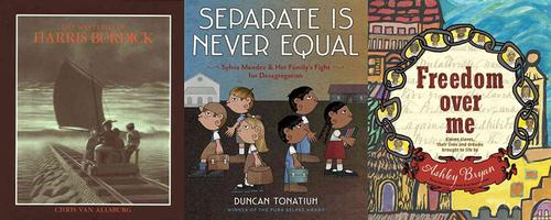 November is Picture Book Month and in celebration, we're sharing some of our favorite picture books for school-age readers.