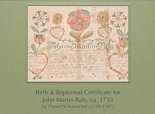 Birth Certificate by Daniel Schumacher Image 1 (FLP)
