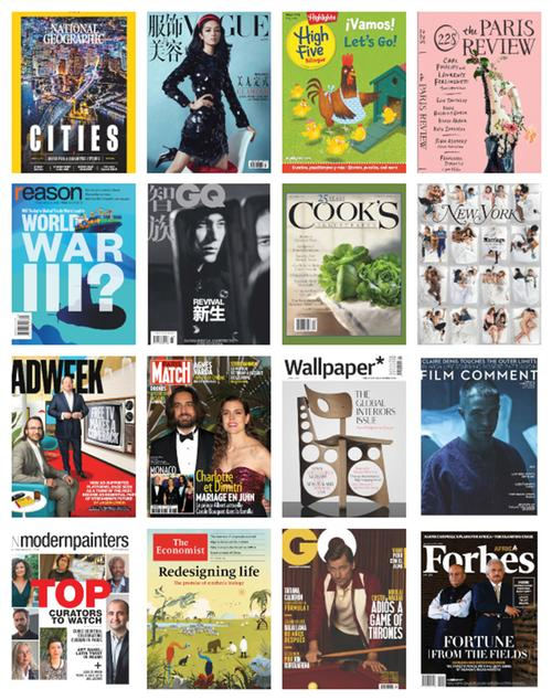 Just some of the newest additions to our digital magazines subscriptions through RBdigital!