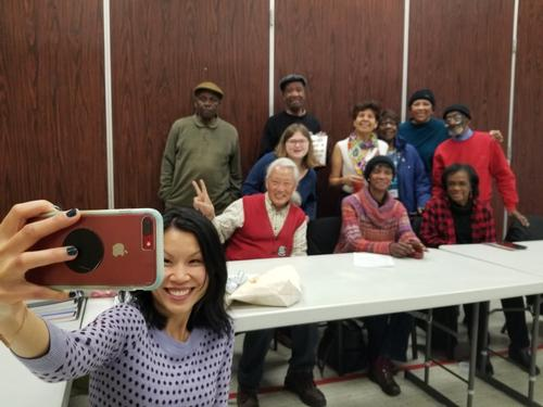 <i>One Book, One Philadelphia</i> was thrilled to join Philadelphia's Senior Center last week.