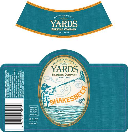 The Official Shakesbeer Label