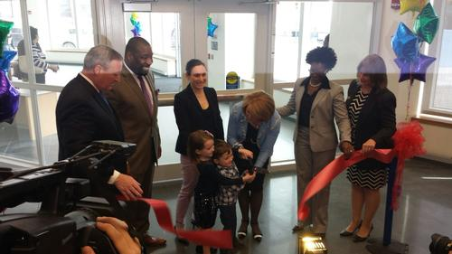 South Philadelphia Community Health and Literacy Center ribbon cutting ceremony