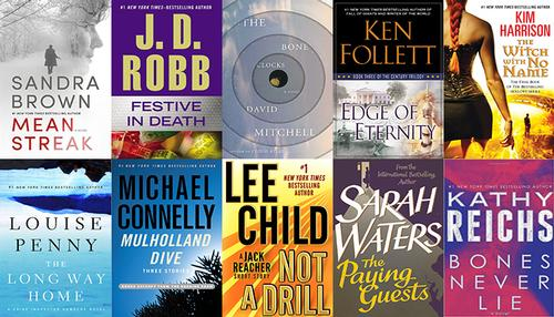 Top 10 ebooks OverDrive Digital Library September 2014