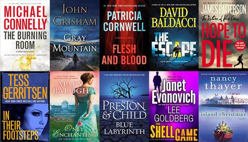 Top 10 ebooks OverDrive Digital Library November 2014