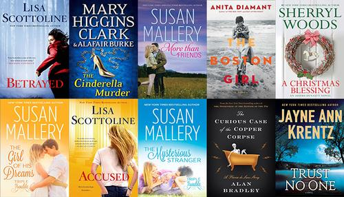 Top 10 ebooks OverDrive Digital Library December 2014