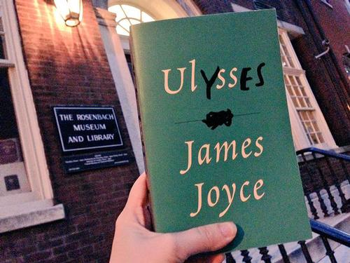 <i>Ulysses</i> and the Rosenbach go hand in hand!