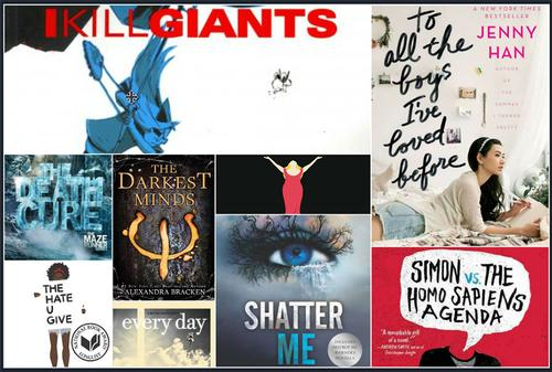 Did you know that a ton of Young Adult books are headed to screens both big and small in 2018?