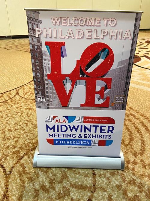 Welcome to Philadelphia, ALA Midwinter!