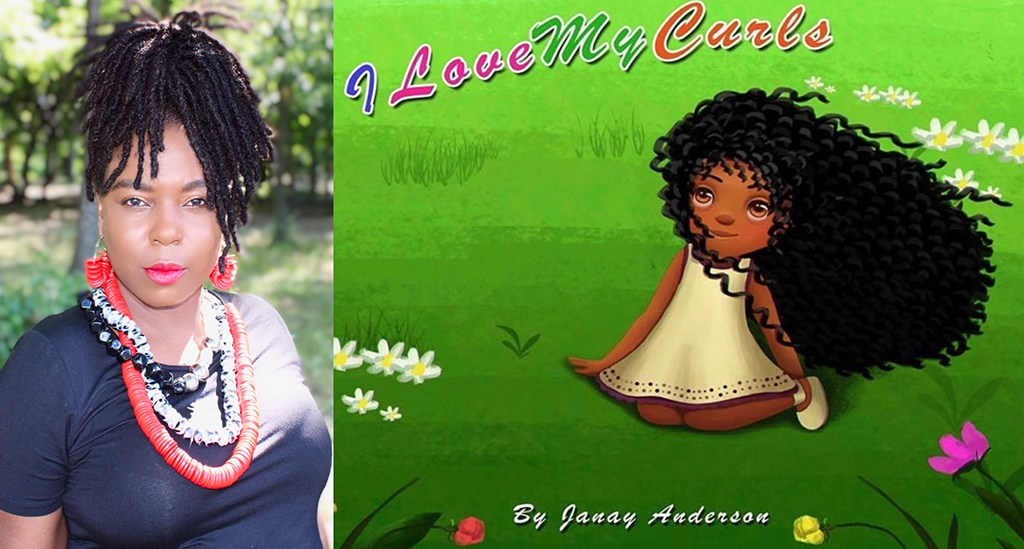 Janay Anderson and her book,