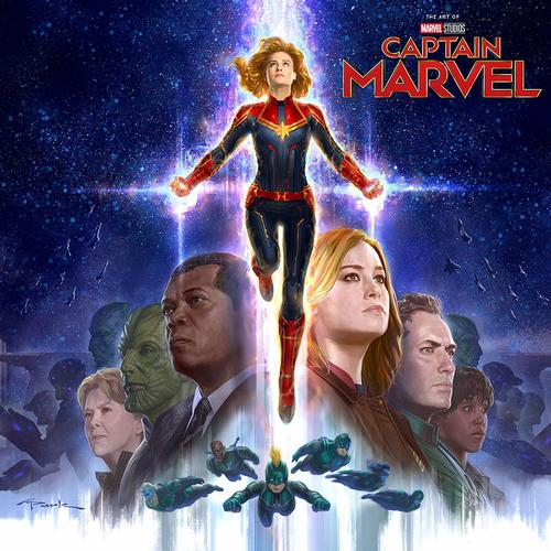 Captain Marvel soars off the comics page and into theaters March 8!