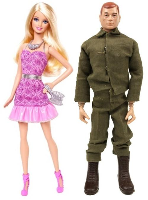 2019 marks Barbie's 60th and G.I Joe's 55th birthdays.