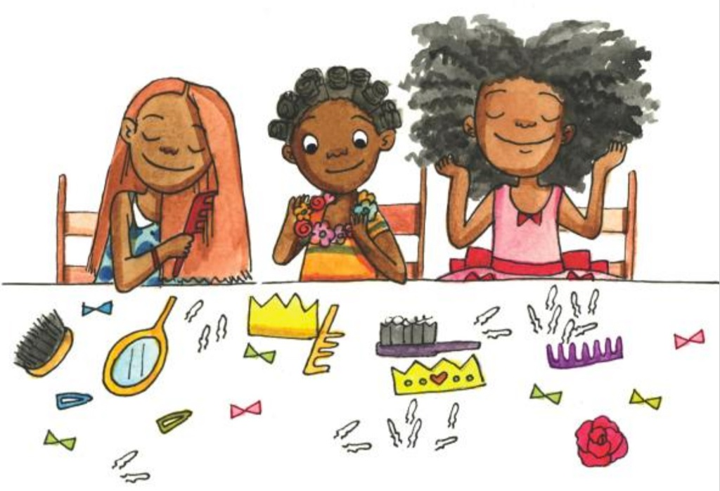 From hairstyles to haircuts, these books written and illustrated by African American authors and illustrators, celebrate the beauty and power of black hair!
