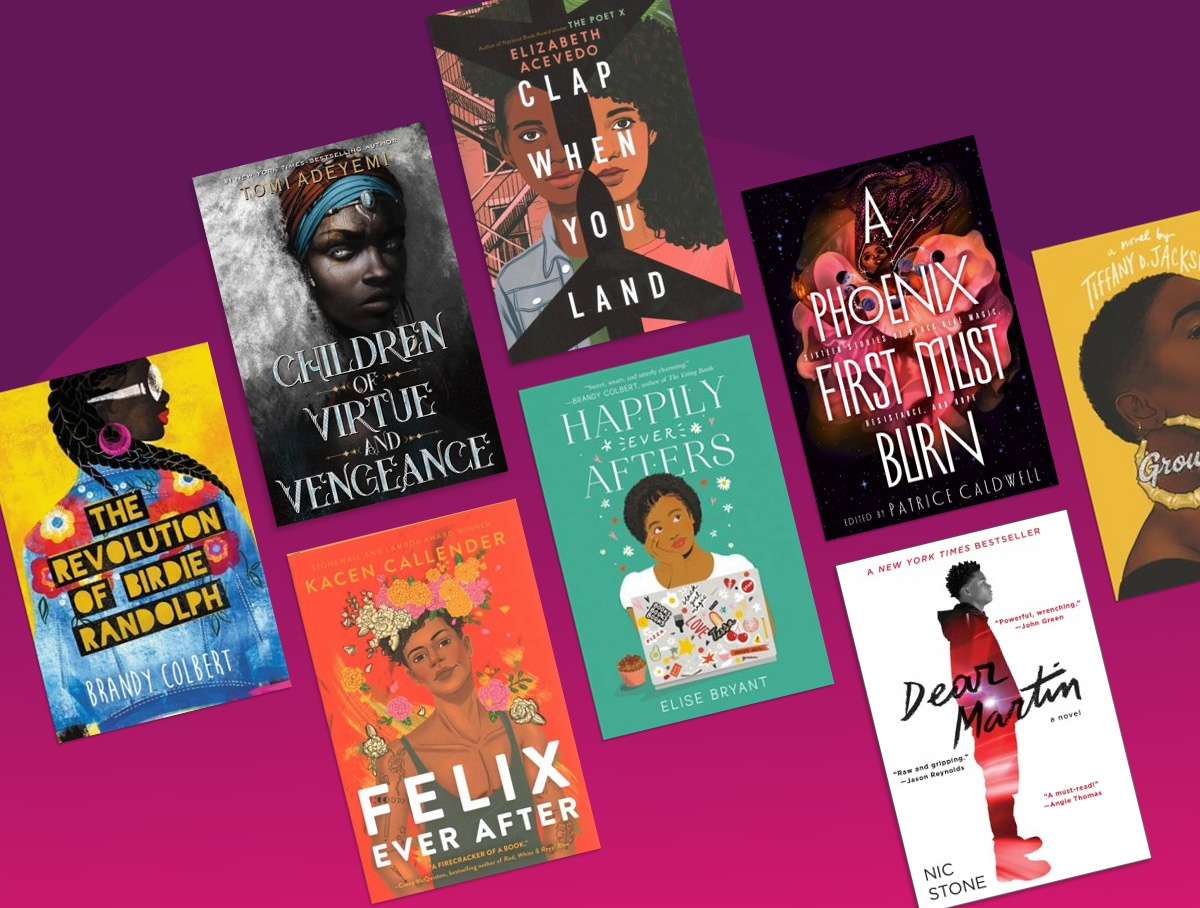 Indulge in the talent of Black authors with these #OwnVoices reads.
