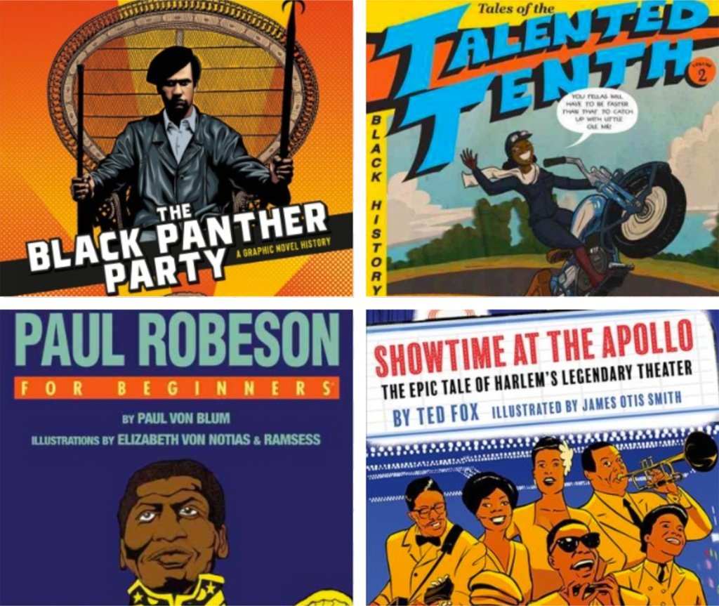 Check out these Black History graphic novels and more from our catalog!