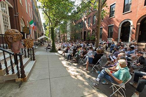 The Rosenbach will commemorate Bloomsday with the traditional day-long public reading of Ulysses on Delancey Place from 12:00 p.m. to 8:00 p.m. on June 16.